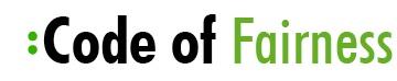 Logo Code of Fairness