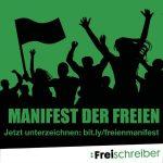 Kampabild Manifest der Freien